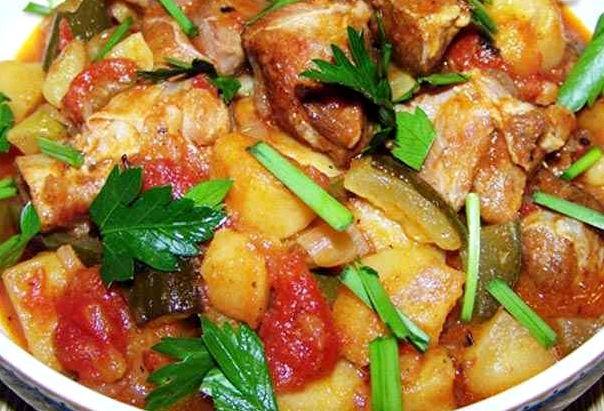 Азу по татарски с говядины рецепт с фото