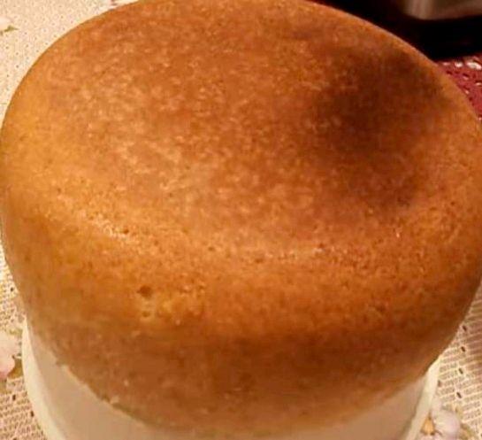 Высокий бисквит рецепт пошагово 84