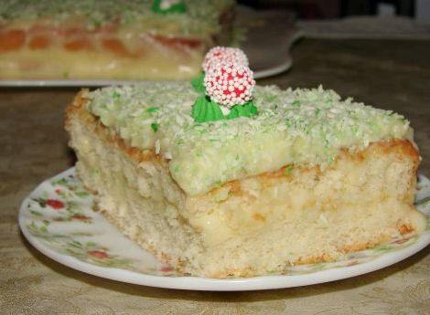 Бисквитный торт рецепт с заварным кремом