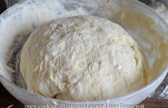 Быстрый рецепт дрожжевого теста для пирожков