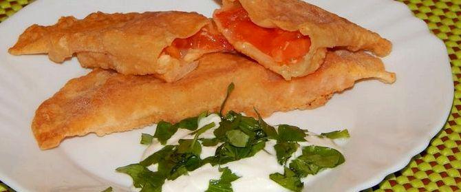 Чебуреки рецепт с пошаговый с сыром и грибами