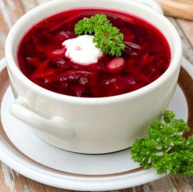 Диетический вегетарианский борщ рецепт