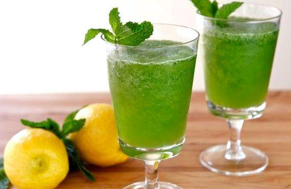 Лимонад своими руками с мятой
