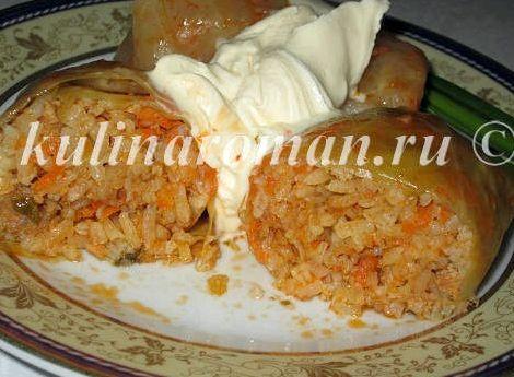 Голубцы из свежей капусты пошаговый рецепт с фото в мультиварке