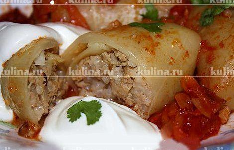 Голубцы в духовке со сметаной рецепт пошагово с фото