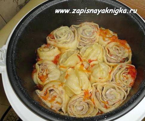 ханум рецепт с пошаговым фото с картошкой и фаршем в духовке