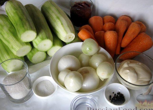 Икра из кабачков рецепт на зиму с майонезом