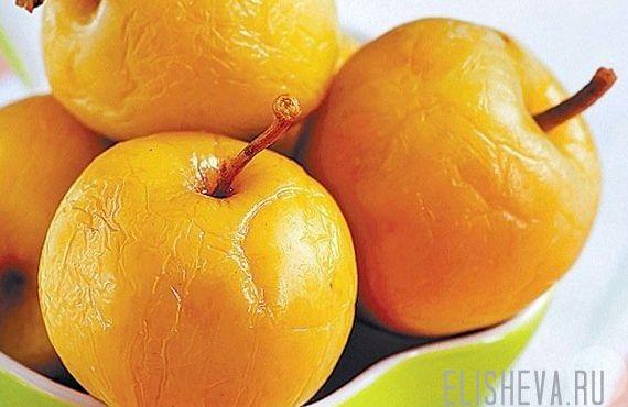 Яблоки белый налив моченые рецепт домашние