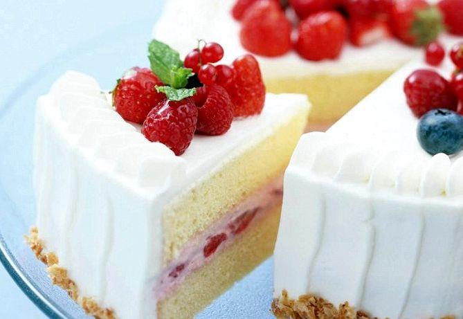 Йогуртовый торт в домашних условиях рецепт с фото