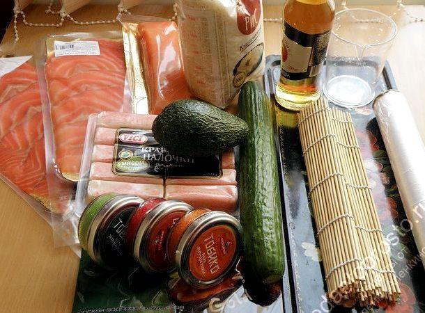 как приготовить роллы в домашних условиях рецепт с фото калифорния