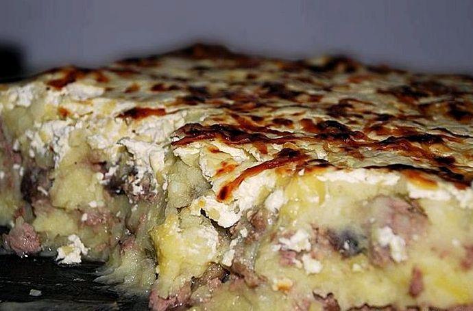 запеканка и картошкой в духовке рецепт с фото