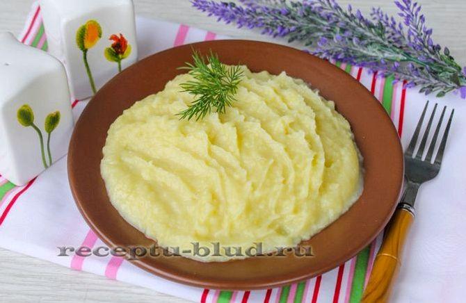 Как сделать картофельное пюре из молока