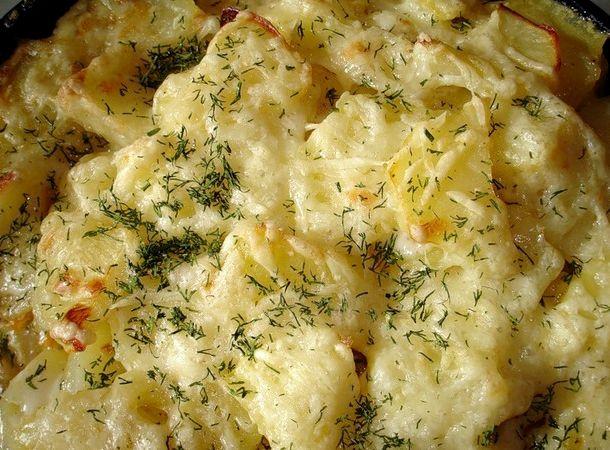 Картофель в мультиварке с майонезом рецепт