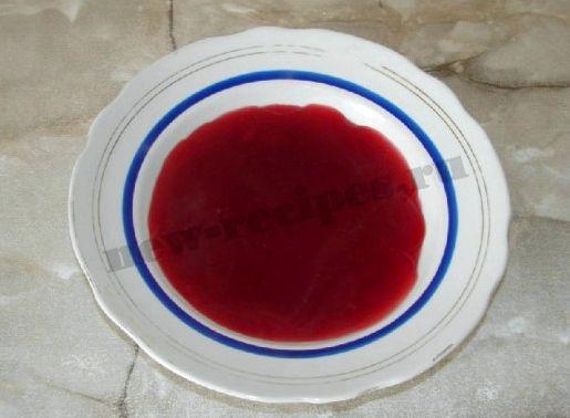 Кисель рецепт вишневый густой в тарелках