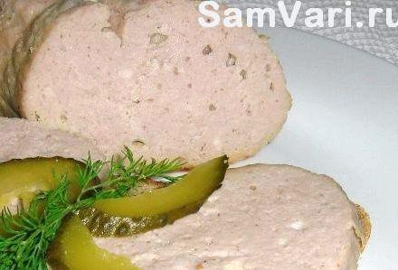 Колбаса домашняя вареная рецепт с фото