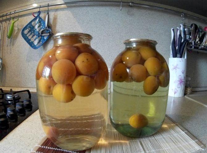 Компот из абрикосов без стерилизации рецепт