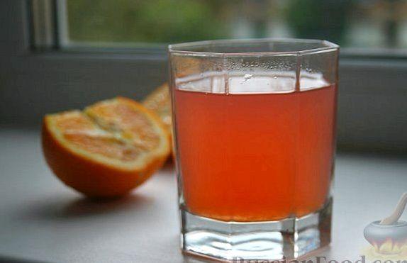 Компот из апельсинов рецепт с фото пошагово