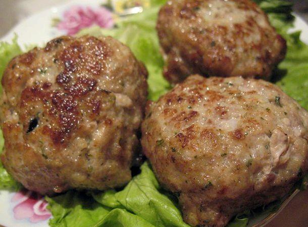 Котлеты с свиного и говяжьего фарша рецепт с фото