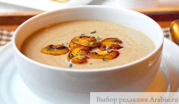 Крем суп из шампиньонов классический рецепт