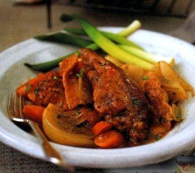 Кролик в духовке рецепт с фото с овощами