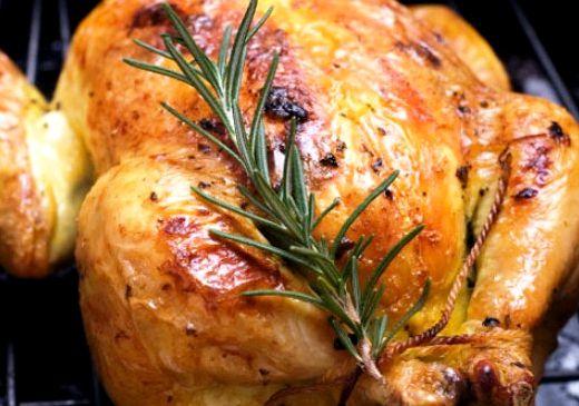 Курица в духовке целиком в сметане рецепт