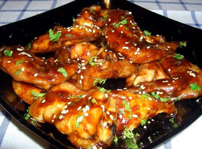 курица в терияки соусе в духовке рецепт с фото
