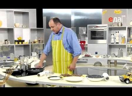 На какой сковороде готовит лазерсон