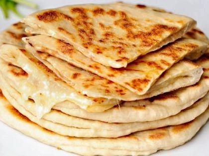 Лепешки на кефире с сыром на сковороде рецепт