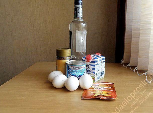 Ликёр бейлис в домашних условиях рецепт
