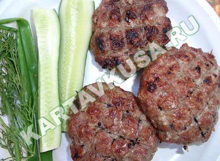 Люля-кебаб из баранины на мангале рецепт