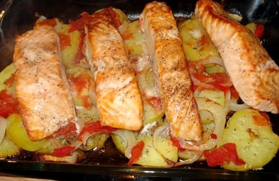 Пирожки с картошкой и сыром в духовке
