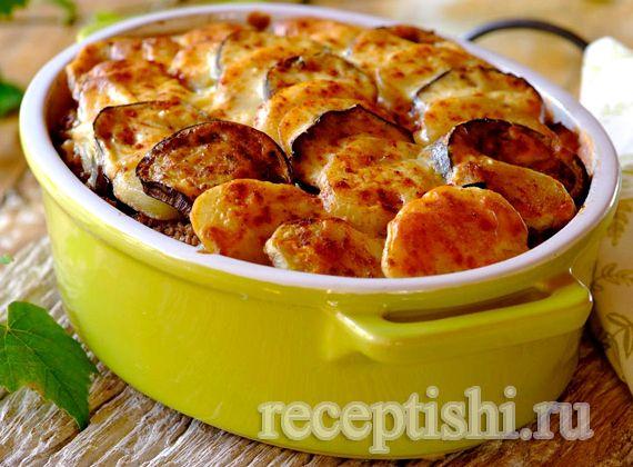 Мусака рецепт с фото с баклажанами и картофелем