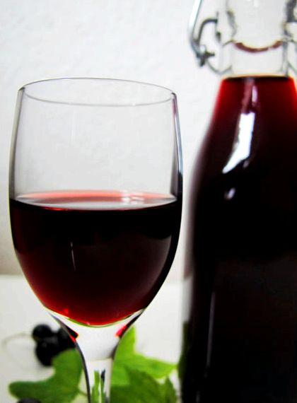 Настойка из черной смородины рецепт