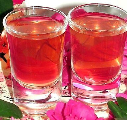 Настойка спиртовая с розы