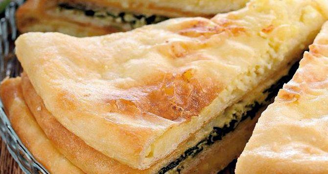 Осетинские пироги с брынзой рецепты с пошагово