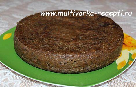 Печеночный торт в мультиварке рецепт с фото