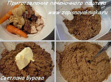 Печёночный паштет из говяжьей печени рецепт пошагово с фото