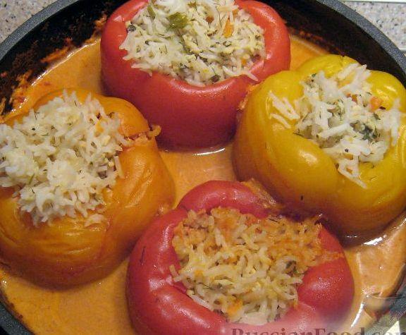 Перец фаршированный мясом рецепт с фото