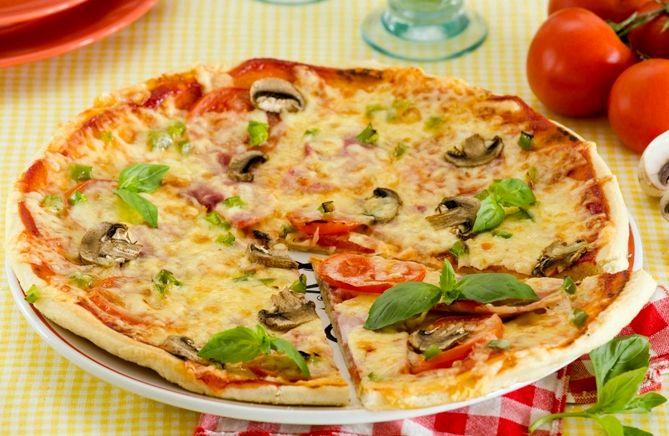 Пицца в домашних условиях на сковороде рецепт