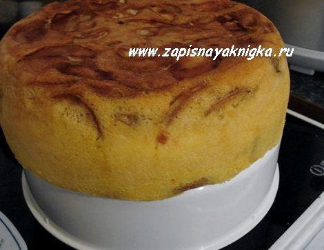 Пирог с яблоками рецепт шарлотка в мультиварке