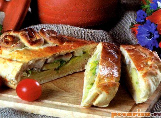 Пирог с мойвой и картошкой рецепт пошагово с фото