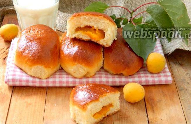 Пирожки с абрикосами в духовке рецепт с фото без молока