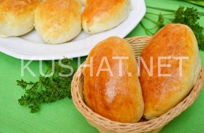 Как сделать пирожки с яйцом и луком жареные на сковороде рецепт