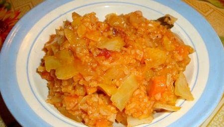Рагу овощное с кабачками и рисом рецепт с фото
