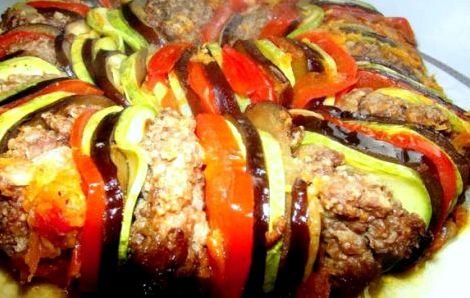 Рецепт рататуя в духовке и фото