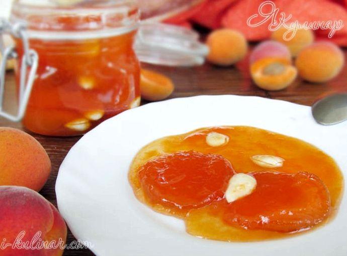 Рецепт абрикосового варенья без косточек с лимоном