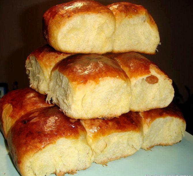 Сладкие булочки и рецепт