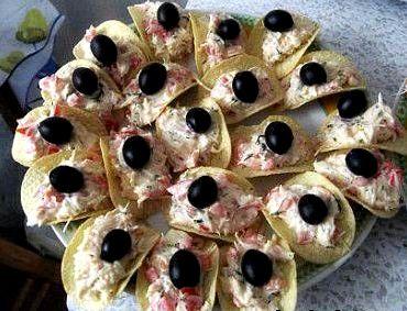 Рецепт бутербродов на день рождения с фото