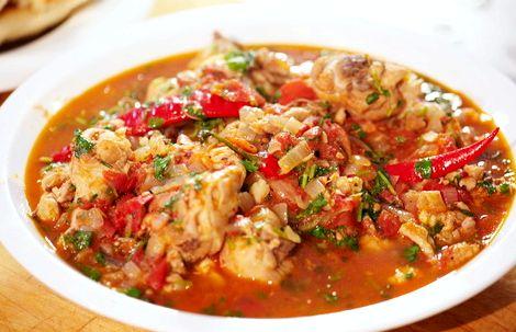 Рецепт чахохбили из курицы на сковороде