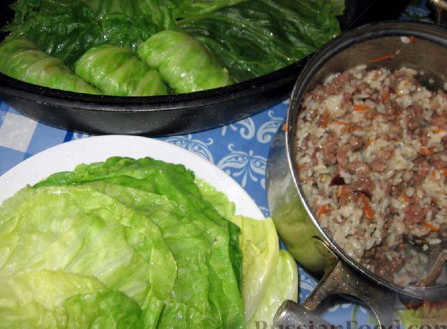 Рецепт голубцов из молодой капусты с фото
